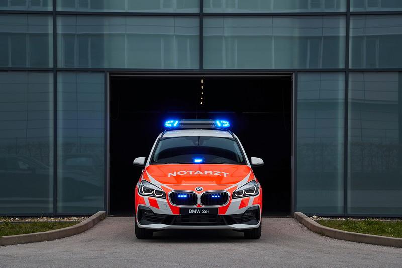 Der BMW 2er Gran Tourer als Notarzteinsatzwagen