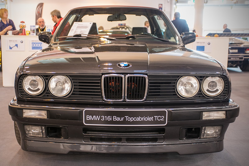 BMW 316i Baur Topcabriolet TC2, Baujahr: 1990, 14.455 Einheiten wurden gebaut (alle Baur TC gesamt)