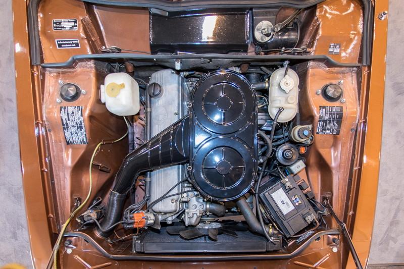 BMW 3,0 CS (Modell E9), 6-Zylinder-Motor, 2.985 ccm Hubraum, 180 PS
