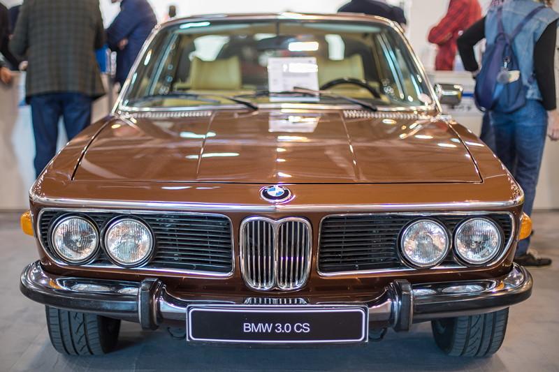 BMW 3,0 CS (Modell E9), bis 1975 wurde das E9-Coupé gebaut