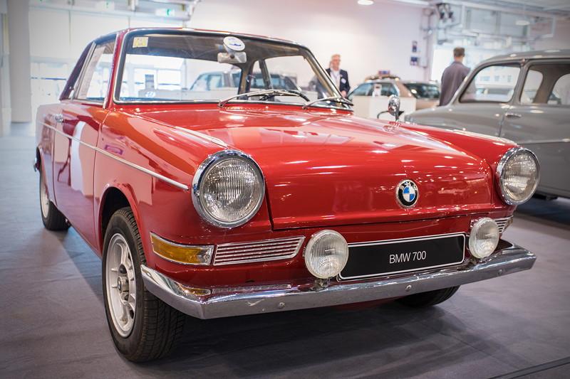 BMW 700 Coupé, Baujahr 1960, 19.896 Einheiten produziert, ehemaliger Neupreis: 5.300 DM