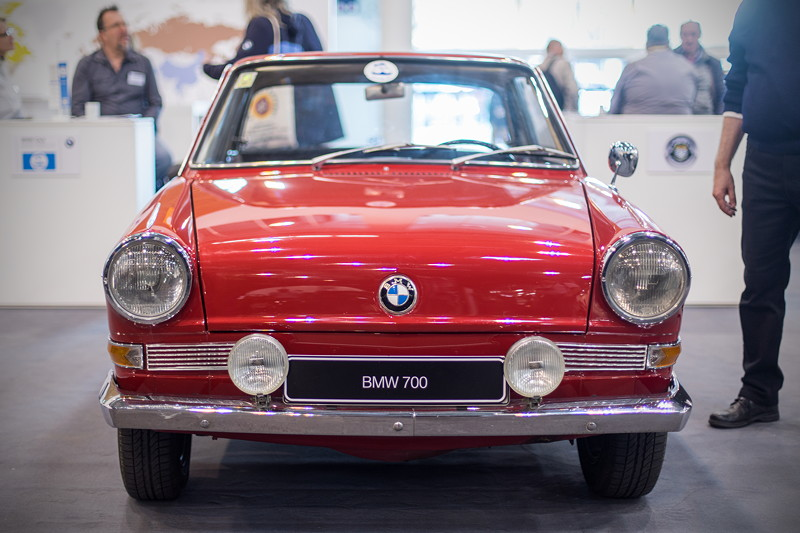 BMW 700 Coupé von Harald Kursawe, ausgestellt vom BMW Isetta Club e.V., Techno Classica 2019.
