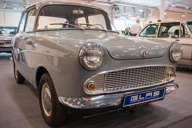 Glas Isar T600, Baujahr 192, 88.561 Einheiten wurden insgesamt produziert (ges. Baureihe).