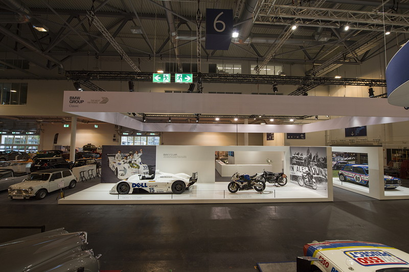 BMW Group Classic Messestand, Techno Classica 2019.