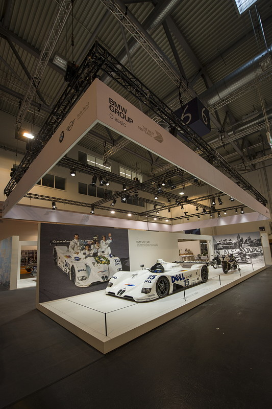 BMW Group Classic Messestand, Techno Classica 2019: BMW V12 LMR.