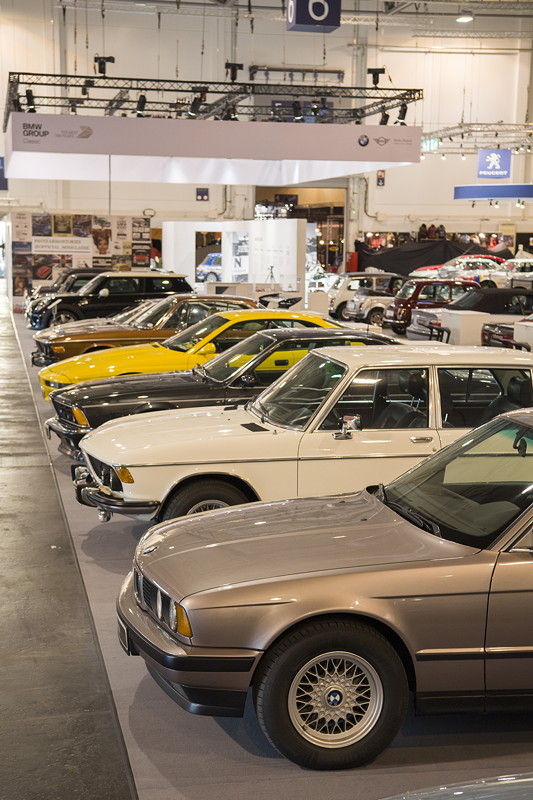 BMW Group Classic Messestand, Techno Classica 2019: BMW Clubfahrzeuge.