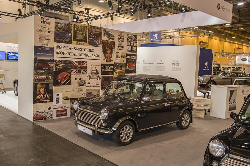 BMW Group Classic Stand auf der Techno Classica 2019: Mini