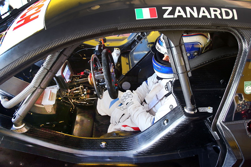 Vallelunga (ITA), 07.08.2018. BMW Motorsport, Tests, Alessandro Zanardi (ITA) BMW M4 DTM.