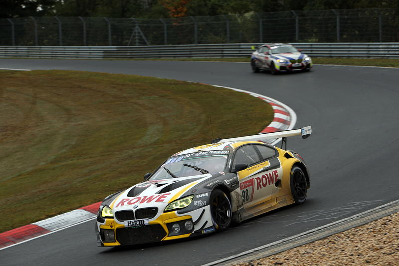 Nürburgring, 27.09.2020. 24h Nürburgring, Nordschleife, #98 BMW M6 GT3, ROWE Racing, Lucas Auer (AUT), Tom Blomqvist (GBR), Philipp Eng (AUT), Marco Wittmann (GER).