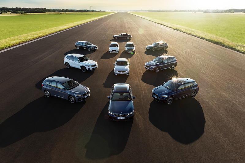 Das Modellportfolio der BMW Group Plug-in-Hybride.