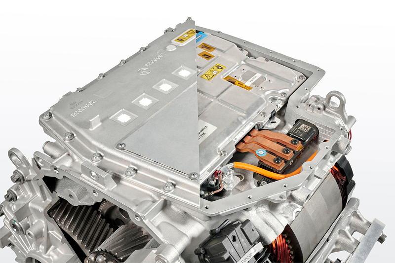BMW iX3 Hochintegrierte E-Antriebseinheit Schnittmodell