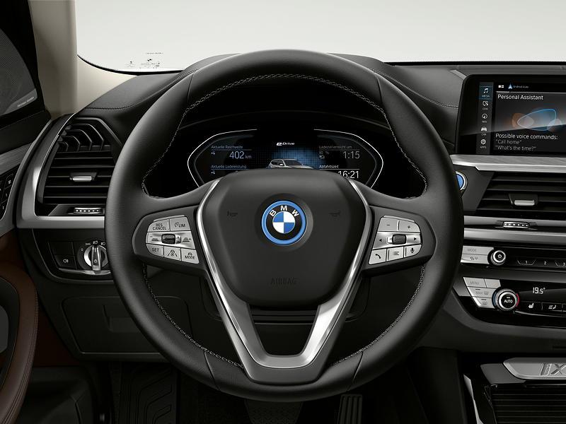Der erste BMW iX3 - Interieur, Cockpit
