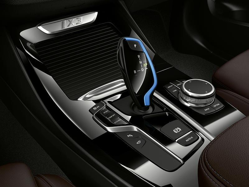 Der erste BMW iX3 - Interieur, Mittelkonsole mit iDrive Touch Controller
