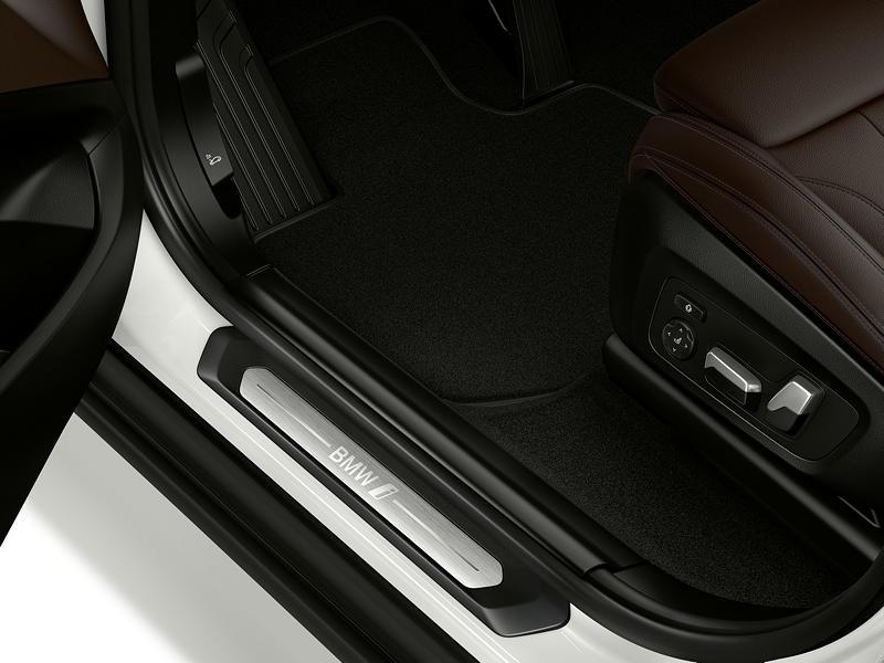 Der erste BMW iX3 - Interieur, Einstiegsleiste