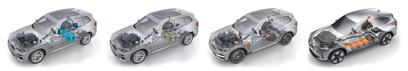 Power of Choice: Der BMW X3 in 4 Antriebsvarianten