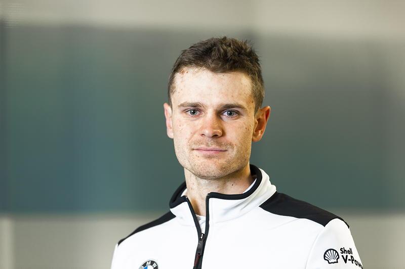 München, 6. Februar 2020. BMW M Motorsport, BMW Motorsport, DTM, BMW DTM Werksfahrer Jonathan Aberdein (RSA).
