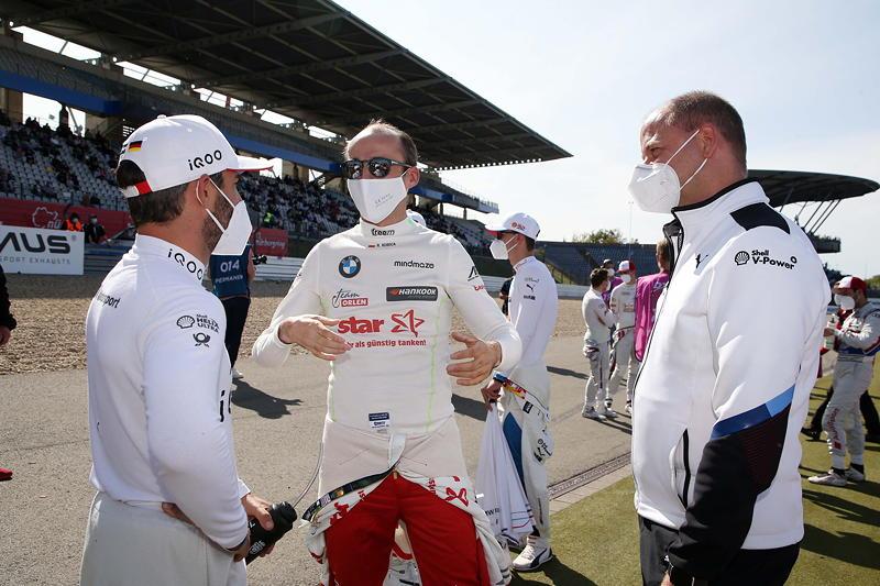 Nürburgring, 20.09.2020. DTM Rennen 12, Timo Glock, Robert Kubica (POL), und Rudolf Dittrich.
