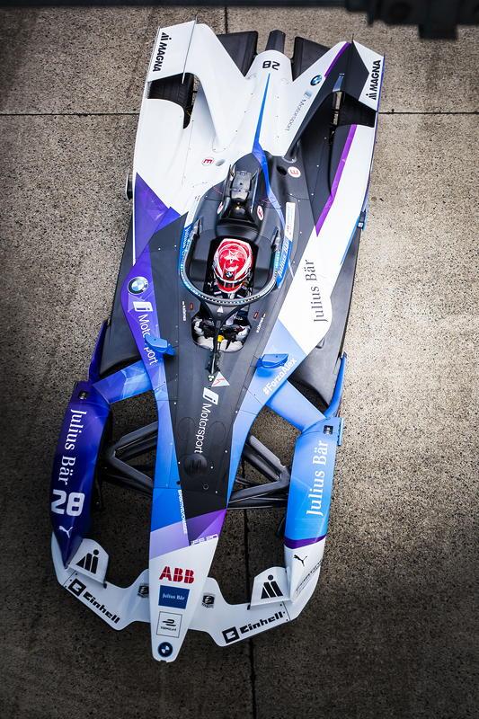 Berlin, 13.08.2020. ABB FIA Formula E Championship, Saisonfinale, Tempelhof, BMW i Andretti Motorsport, BMW iFE.20, Maximilian Günther.