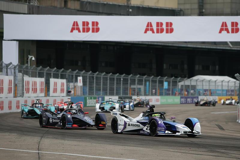 Berlin, 13.08.2020. ABB FIA Formula E Championship, Saisonfinale, Tempelhof, BMW i Andretti Motorsport, BMW iFE.20, Alexander Sims.