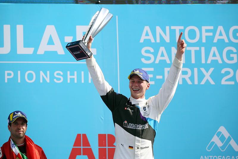 Santiago de Chile (CHL), 16.-18.01.2020. ABB FIA Formula E Championship, Saison 6, Gewinner Maximilian Günther (GER), BMW iFE.20 Nr. 28.