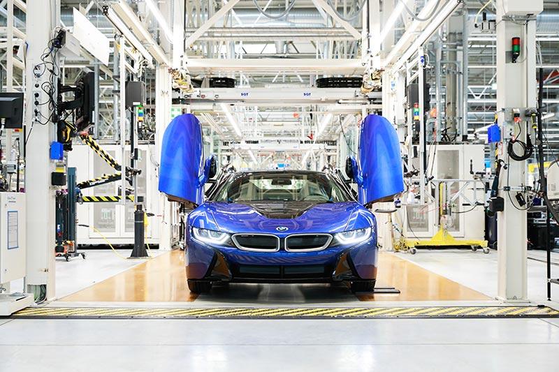 BMW i8, Ende der Serienproduktion im BMW Group Werk Leipzig im Jahr 2020