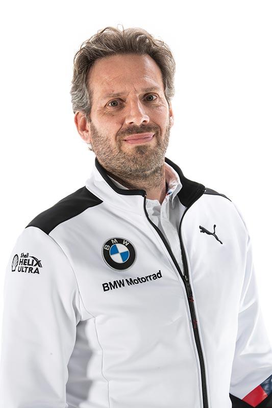 FIM Superbike World Championship WorldSBK 2020. BMW Motorrad Motorsport. BMW Motorrad WorldSBK Team. BMW Motorrad Motorsport Director Marc Bongers.