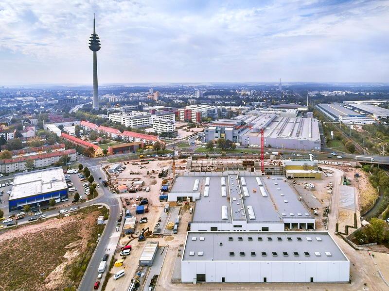 Richtfest der BMW Niederlassung Nürnberg am 25.09.2020.