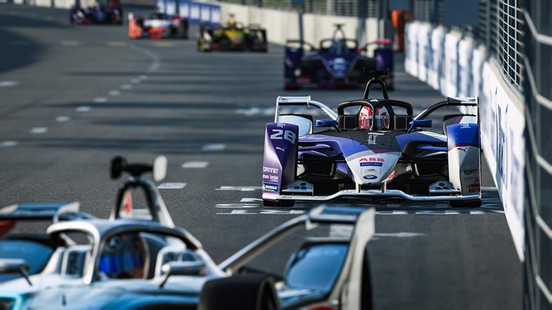 9.04.2020. ABB Formula E Race at Home Challenge, BMW iFE.20, BMW i Andretti Motorsport, Virtual Formula E, sim racing, sim, Maximilian Günther.