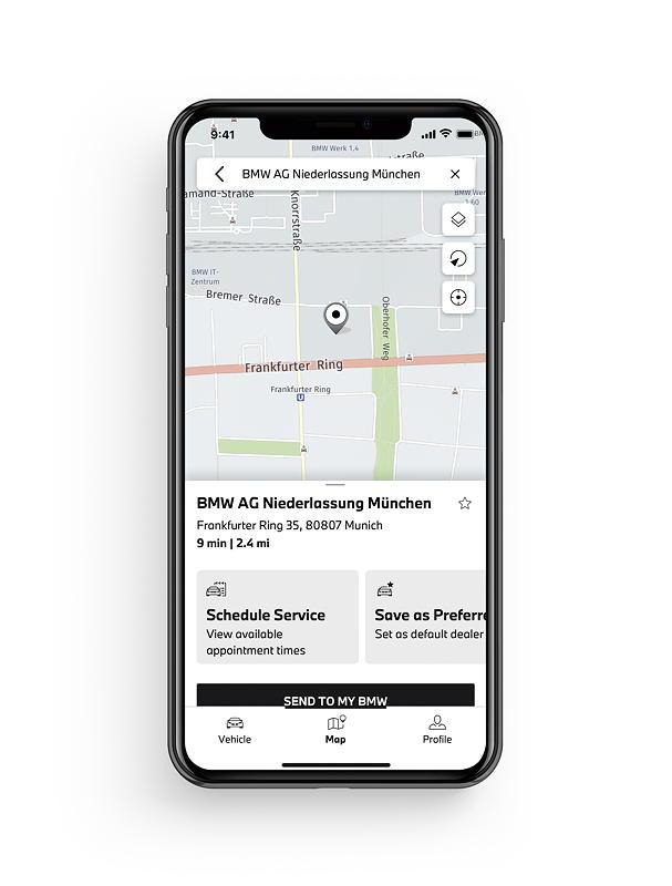 My BMW App