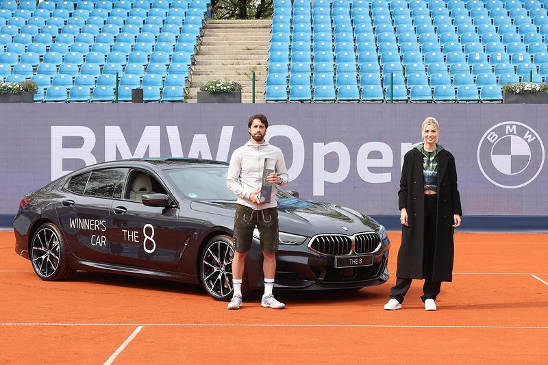 BMW Open 2021: Nikoloz Basilashvili, Lena Gercke