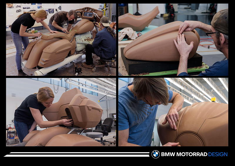 Die neue BMW R 18 B und R 18 Transcontinental. Designprozess.