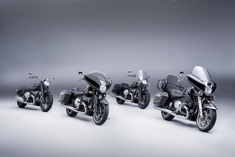 Die BMW R 18 Familie. R 18, R 18 B, R 18 Classic und R 18 Transcontinental.