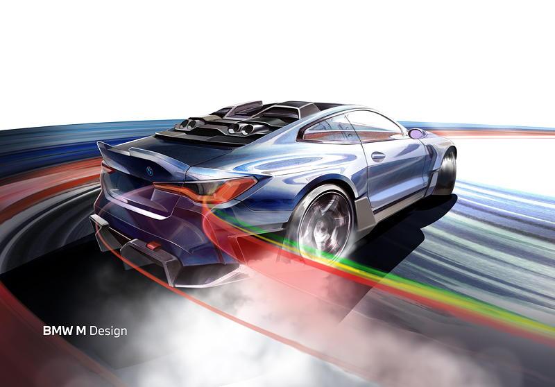 BMW M und die Red Bull Driftbrothers, Episode 2. Skizze.
