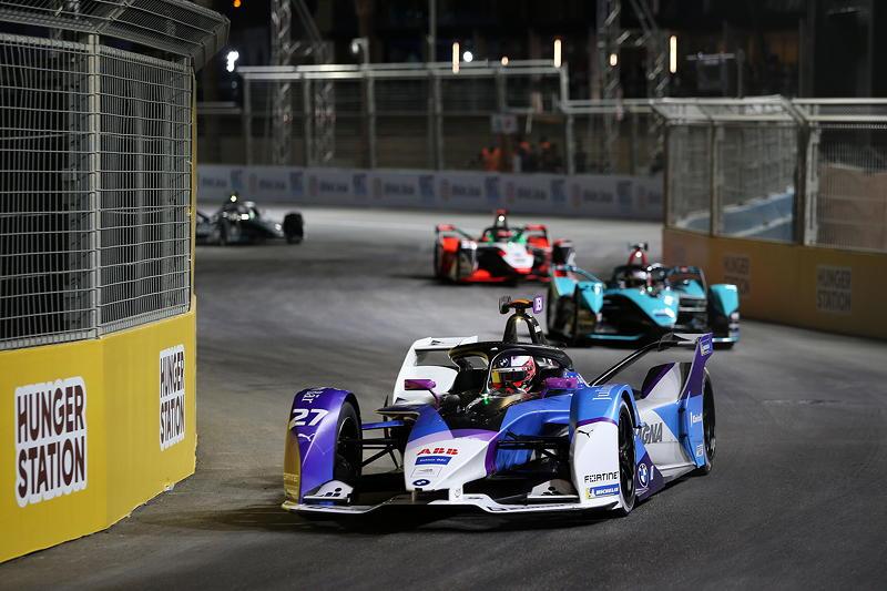 ABB FIA Formula E World Championship 2021, Diriyah E-Prix, 2. Rennen, Jake Dennis (GBR) #27 BMW iFE.21.