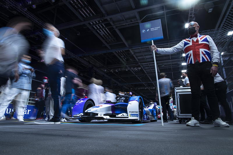 London (GBR), 23.-25.06.21. ABB FIA Formula E London E-Prix, BMW i Andretti Motorsport.