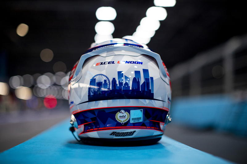 London (GBR), 23.-25.06.21. ABB FIA Formula E London E-Prix, Helm von Maximilian Günther (GER) #28 BMW iFE.21,