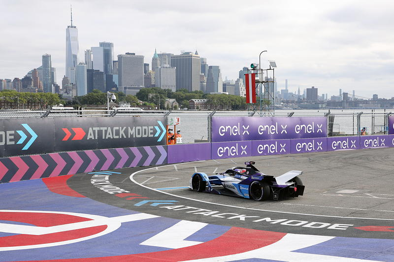 New York (USA), 08.-11.07.2021. ABB FIA Formula E World Championship, New York E-Prix, Jake Dennis (GBR) #27 BMW iFE.21