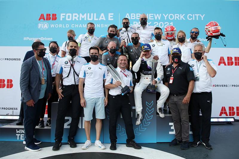 New York (USA), 08.-11.07.2021. ABB FIA Formula E World Championship, New York E-Prix, Team Foto.