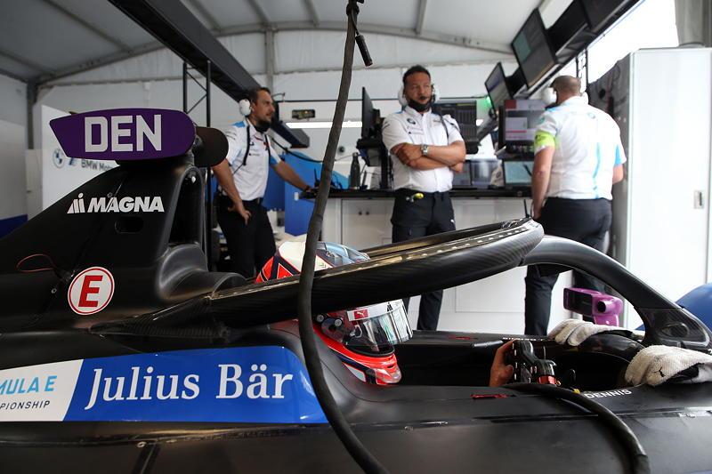 New York (USA), 11.07.2021. ABB FIA Formula E World Championship, New York E-Prix, Jake Dennis (GBR) #27 BMW iFE.21.