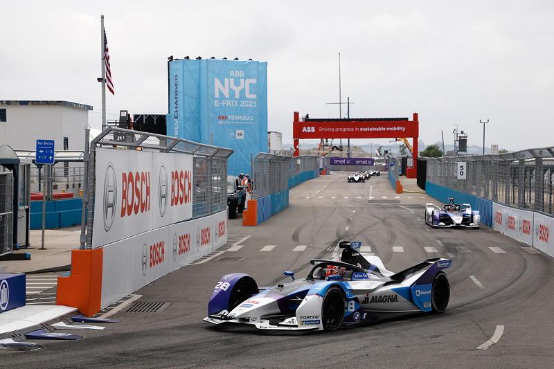 New York (USA), 11.07.2021. ABB FIA Formula E World Championship, New York E-Prix, Maximilian Günther (GER) #28 BMW iFE.21, BMW i Andretti Motorsport.