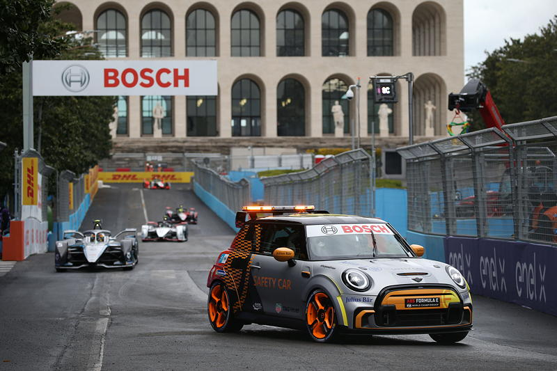 ABB FIA Formula E World Championship, Rome E-Prix 1, MINI Electric Pacesetter inspired by JCW, Safety Car.