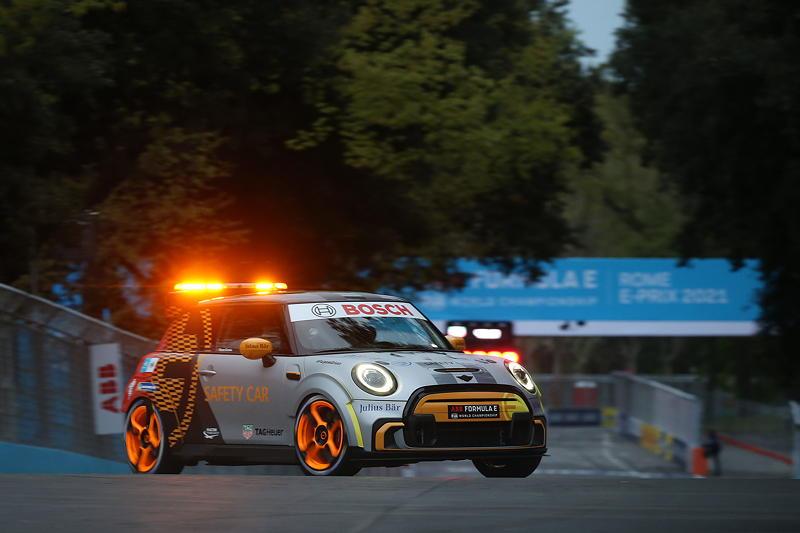 ABB FIA Formula E World Championship, Rome E-Prix, MINI Electric Pacesetter inspired by JCW, Safety Car.