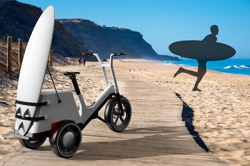 Impulse für urbane Mobilität: Die modulare Transport-Plattform des Concept Dynamic Cargo ermöglicht vielfältige Nutzungsmöglichkeiten.