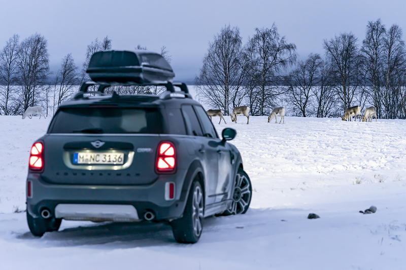 Der MINI Cooper S Countryman ALL4.