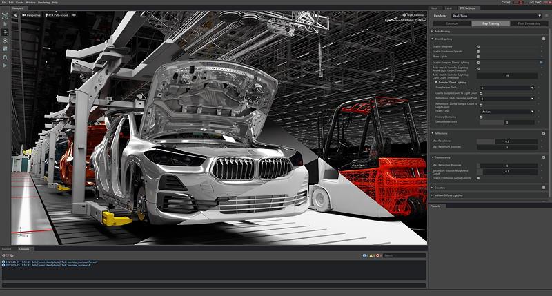 Mit der Omniverse Plattform von NVIDIA revolutioniert die BMW Group die Planung hochkomplexer Fertigungssysteme.