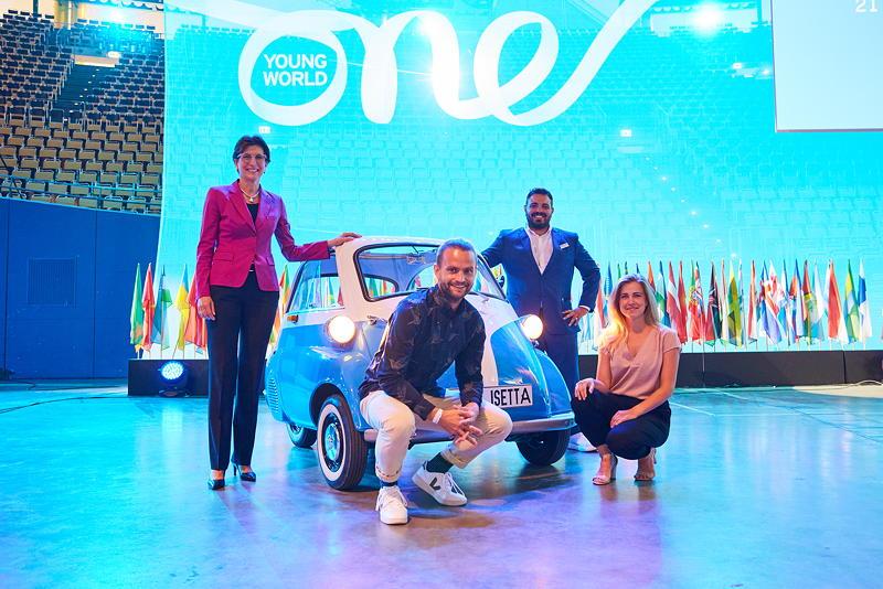 BMW Group auf der Eröffnungszeremonie der One Young World Summit