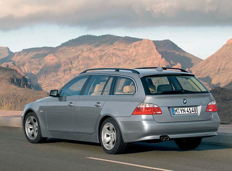 BMW 5er Touring, Modell 2004