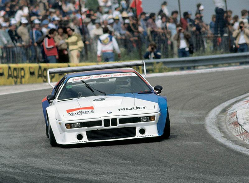 Nelson Piquet im BMW M1 ProCar