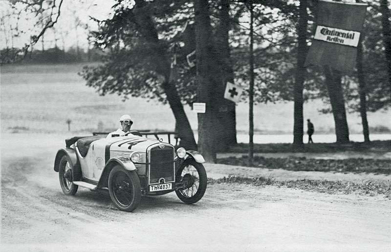 'Rund um den Neroberg' 1931: Der BMW 3/15 PS Wartburg Roadster
