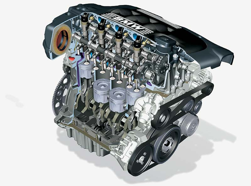 Foto Bmw 4 Zylinder Motor F 252 R Den 3er Bmw Vergr 246 223 Ert